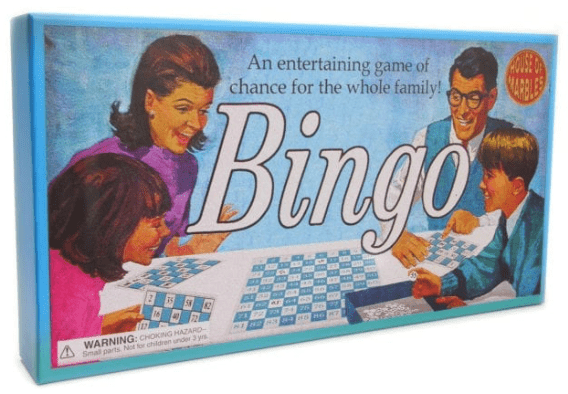 House of Marbles Bingo Game