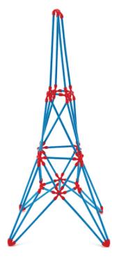 Hape Flexistix Eiffel Tower